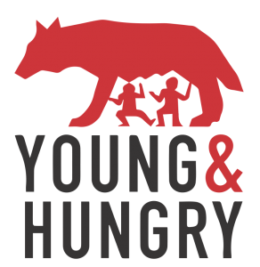Young and hungry logo